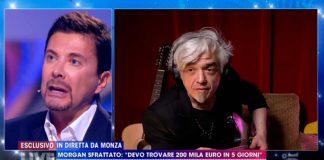 La battuta di Morgan su Riccardo Signoretti a Live - Non è la D'Urso