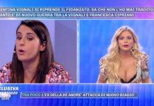 Valentina Vignali e Francesca Cipriani litigano a Pomeriggio 5