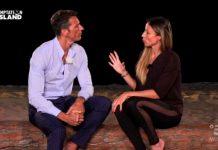 Il falò di confronto di David e Cristina nella quarta puntata di Temptation Island 2019
