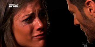 Ilaria Teolis piange a Temptation Island 2019 e Filippo Bisciglia la consola