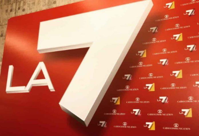 Il logo di La7