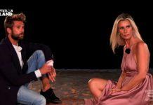 Il falò di confronto di Nicola Tedde e Sabrina Martinengo a Temptation Island 2019