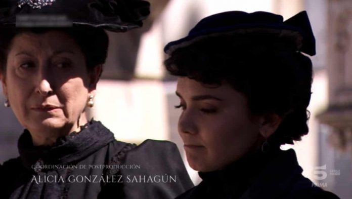 Ursula e Blanca Dicenta nella puntata di Una Vita di lunedì 29 luglio 2019