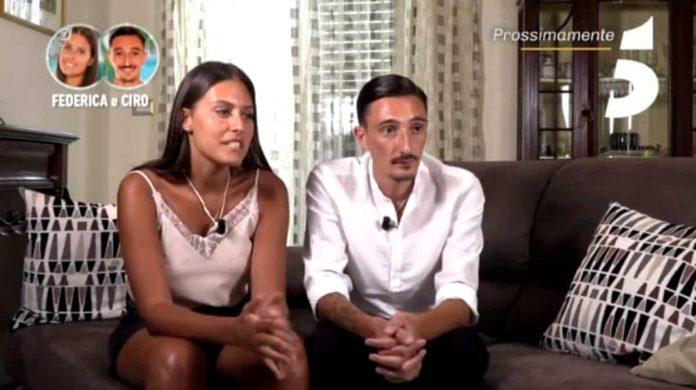 Ciro Petrone e la fidanzata Federica Caputo partecipano a Temptation Island Vip 2019