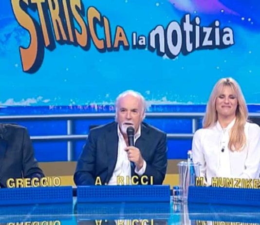 Ezio Greggio, Antonio Ricci e Michelle Hunziker presentano Striscia la notizia 2019 2020 in conferenza stampa