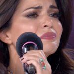 Laura Torrisi in lacrime ad Amici Celebrities