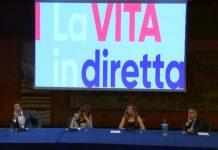 Il nuovo logo de La Vita in Diretta 2019 2020 svelato durante la conferenza stampa di presentazione
