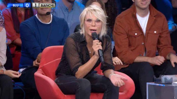 Maria De Filippi gela Filippo Bisciglia ad Amici Celebrities