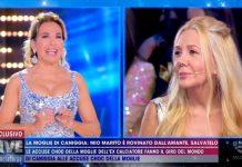 Marianna Nannis accusa l'ex calciatore Claudio Caniggia a Live - Non è la D'Urso