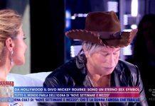 Mickey Rourke ospite a Live - Non è la D'Urso