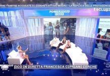 Francesca Cipriani Pomeriggio 5