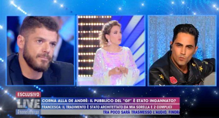 Giorgio Tambellini e Biagio D'Anelli litigano a Live - Non è la D'Urso
