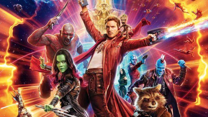 Locandina film Guardiani della Galassia vol 2