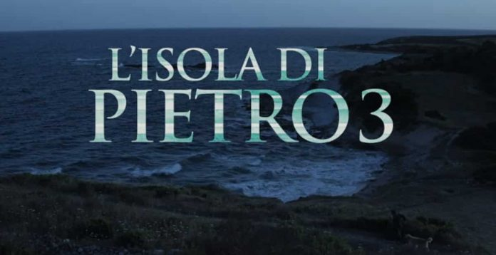 Il logo della fiction L'Isola di Pietro 3
