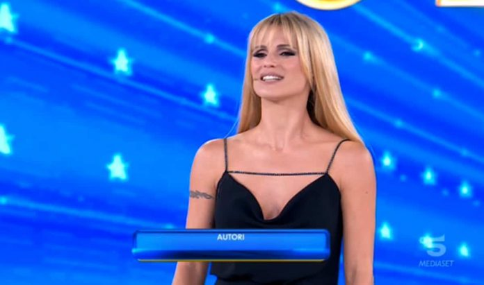 Michelle Hunziker debutta ad Amici Celebrities