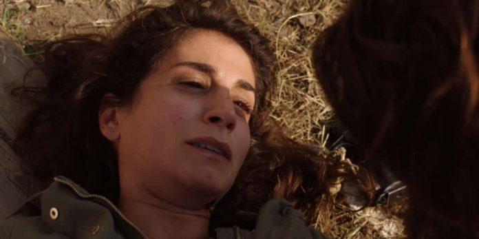 Regina Mainetti (l'attrice Paola Michelini) muore in Rosy Abate 2 - La serie