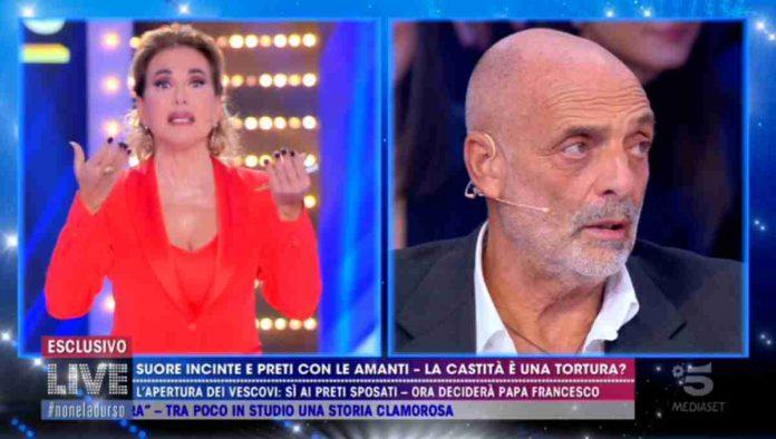 Barbara D'Urso e Paolo Brosio a Live - Non è la D'Urso