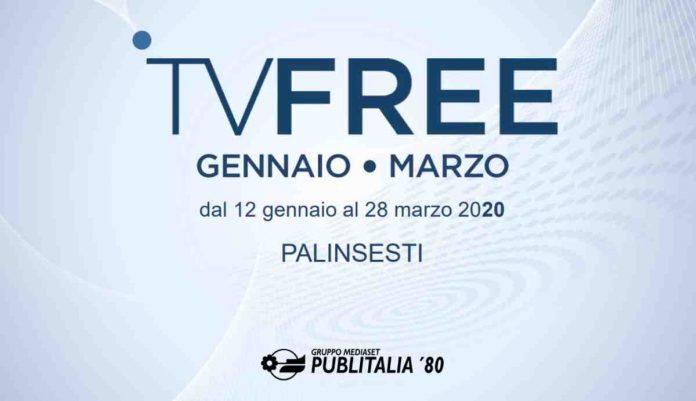 Palinsesti Mediaset gennaio - marzo 2020