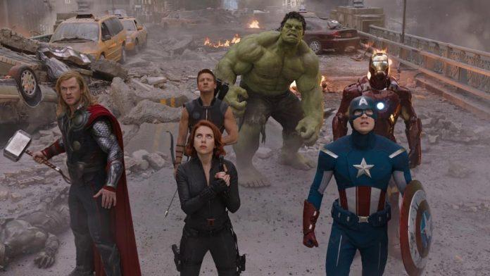 The Avengers, una scena del film