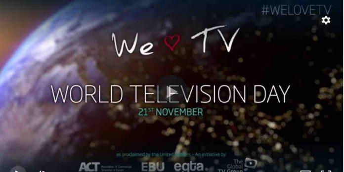 Giornata Mondiale della Televisione 2019