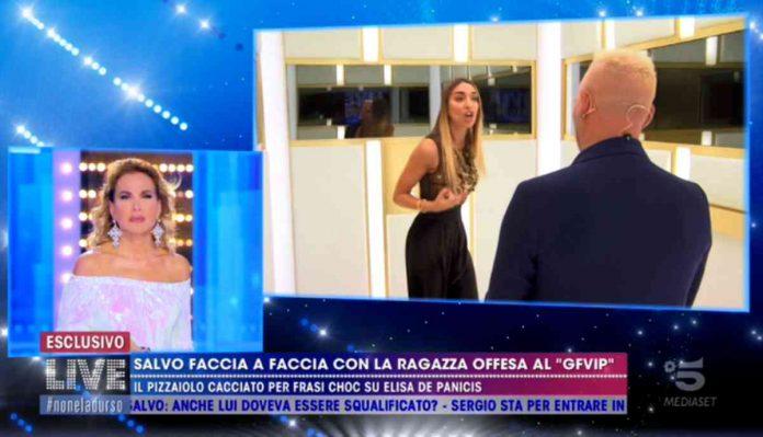 Elisa De Panicis e Salvo Veneziano a Live - Non è la D'Urso 2020