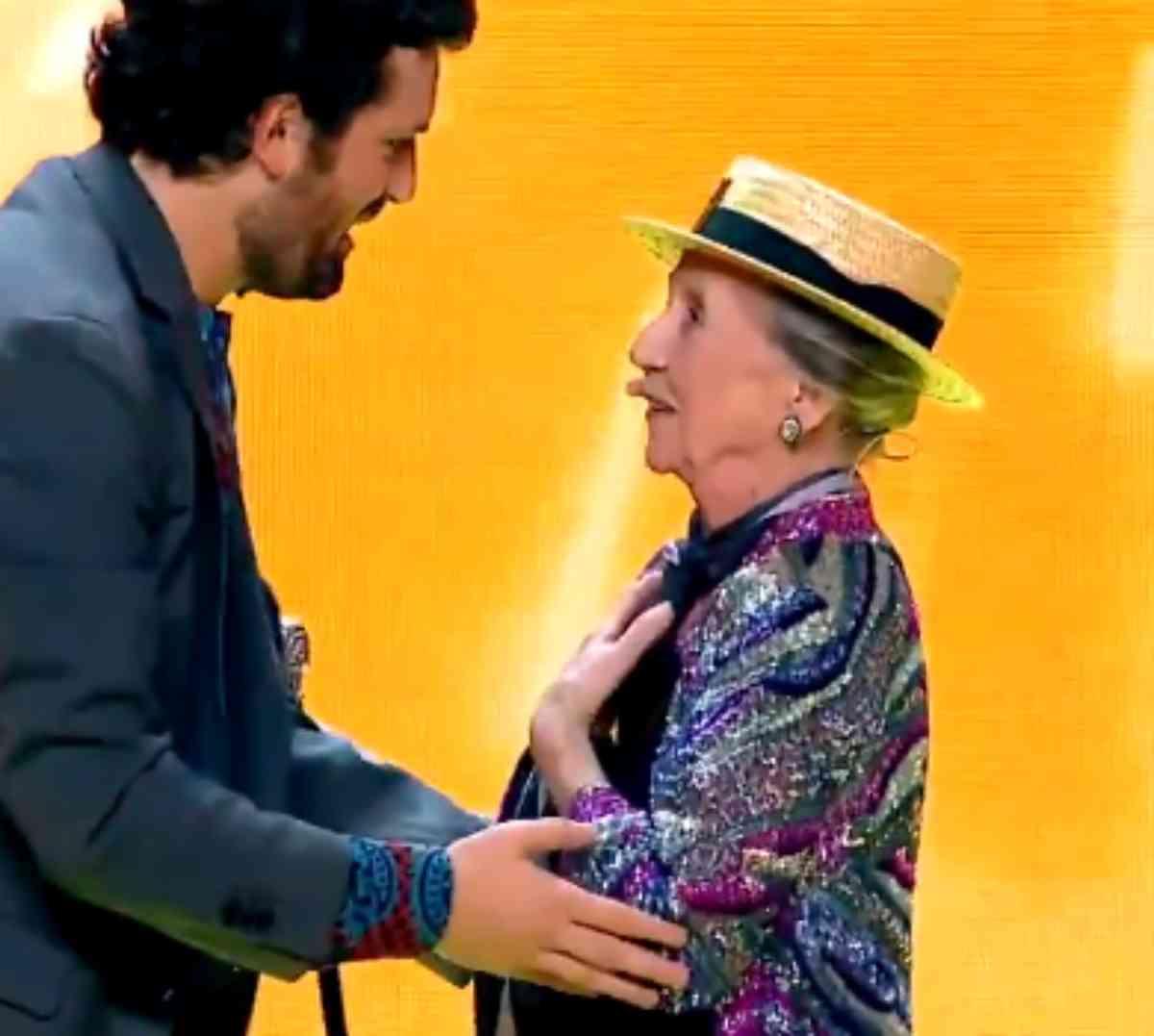 Frank Matano e Claudia Lawrence a Italia's got talent 2020