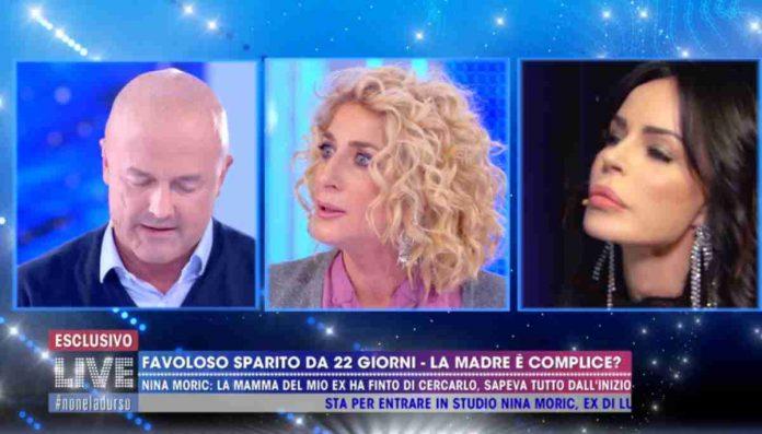 La madre di Luigi Favoloso a Live - Non è la D'Urso