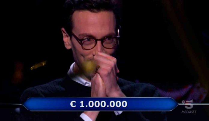 Vincita di 1 milione di euro a Chi vuol essere milionario 2020