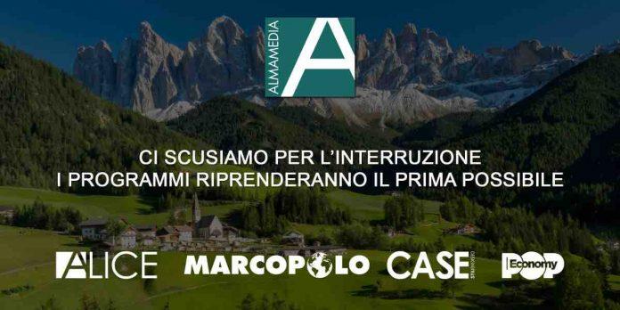 MarcoPolo, Alice Tv, CasaDesign e PopEconomy scomparsi