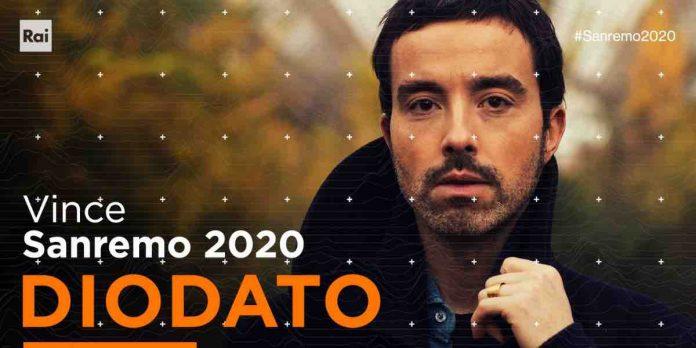 Sanremo 2020 vincitore Diodato