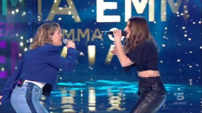 Amici 2020 Serale duetto Emma Gaia