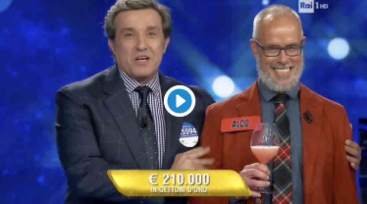 Vincita di 210.000 euro a L'Eredità