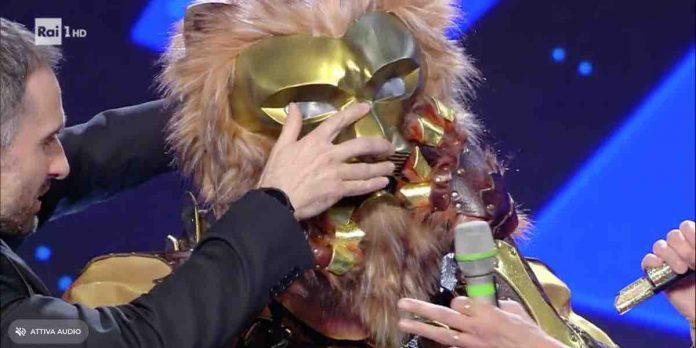 Il Leone è Al Bano de Il cantante mascherato