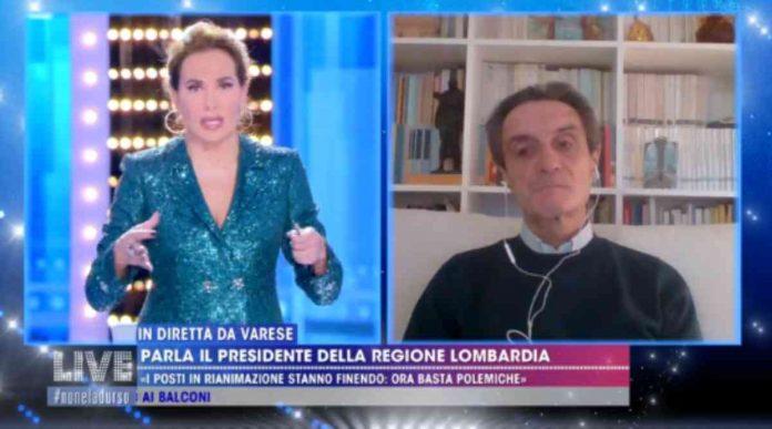 Attilio Fontana a Live Non è la D'Urso