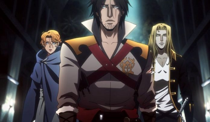 Castlevania 3, serie tv animata su Netflix
