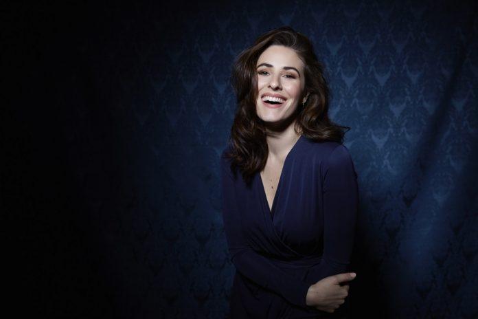 L'attrice e conduttrice Diana Del Bufalo