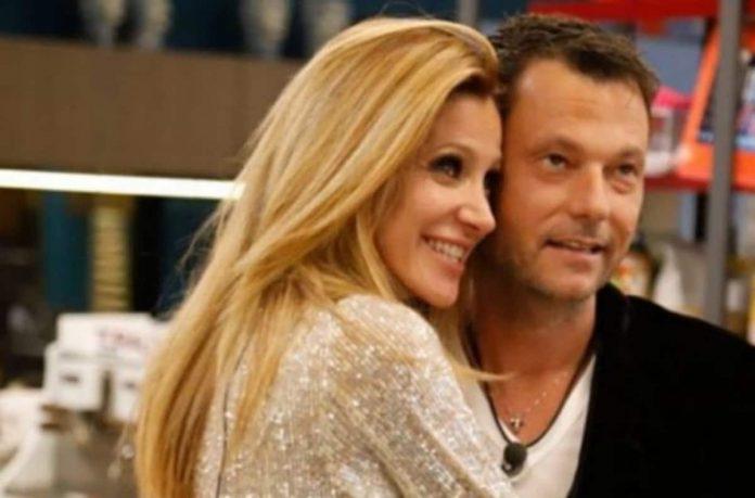 Adriana Volpe e il marito Parli