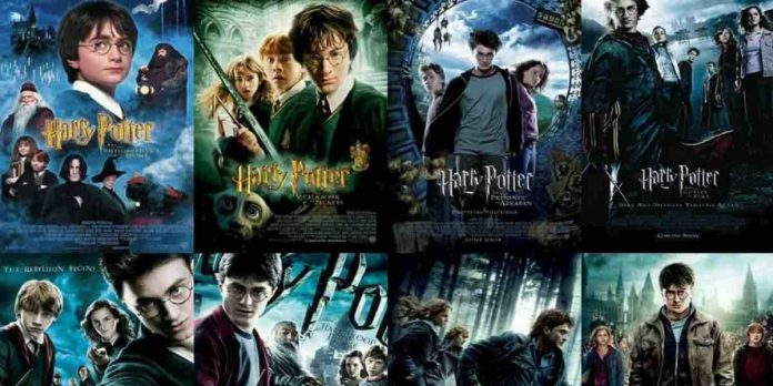 Harry Potter saga film su Italia 1