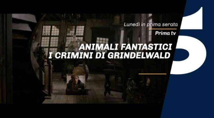 Animali fantastici 2 in prima tv su Canale 5 lunedì 20 aprile 2020