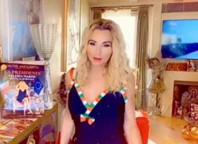 Valeria Marini su Rete 4 con lo spettacolo La Presidente