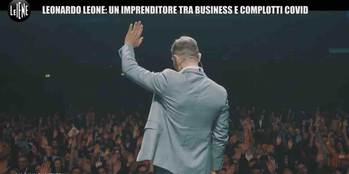 Le Iene, Leonardo Leone e il complotto Covid 19 | Video Mediaset