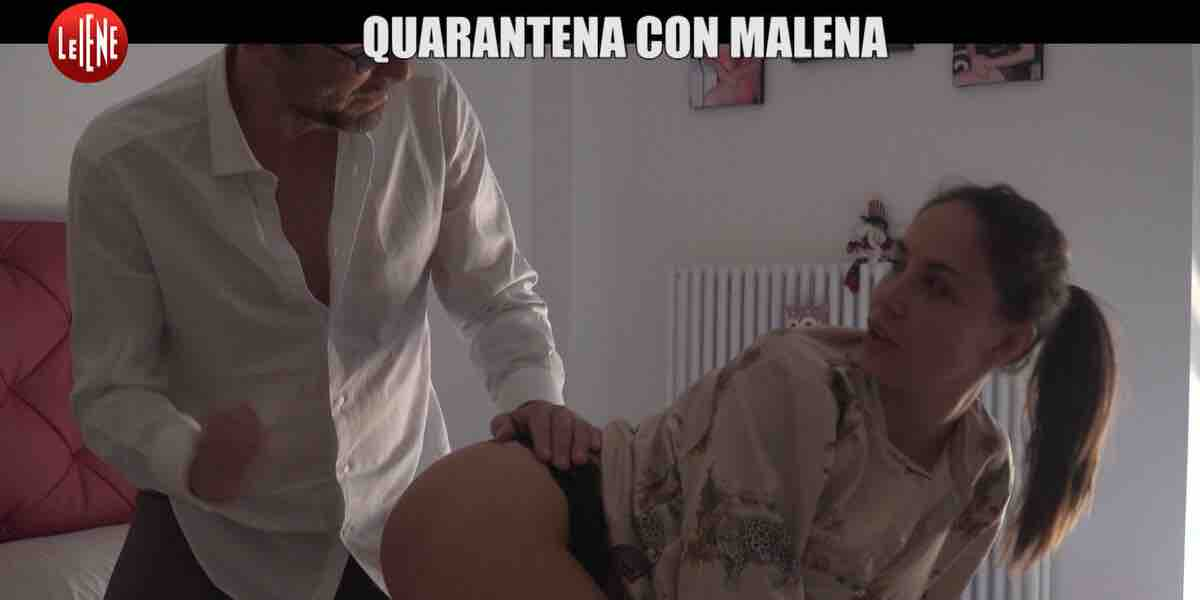 Le Iene, quarantena con Malena tra film e beneficenza | Video ...