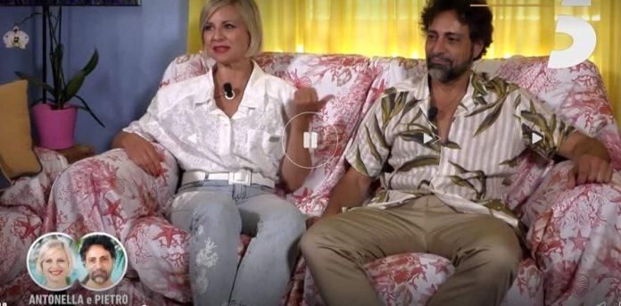 Antonella Elia e Pietro delle Piane a Temptation Island