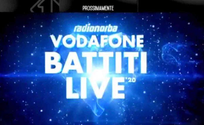 Il logo di Vodafone Battiti Live 2020