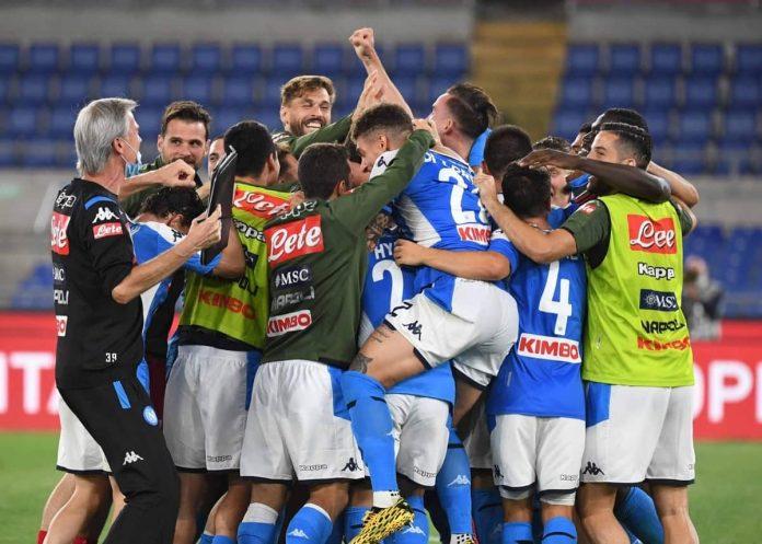 Napoli Juventus coppa italia 2020