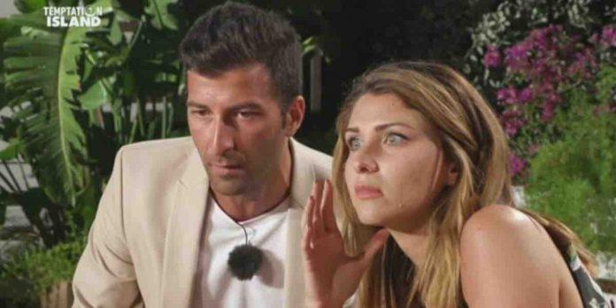 falò di confronto Anna e Gennaro a Temptation Island 2020
