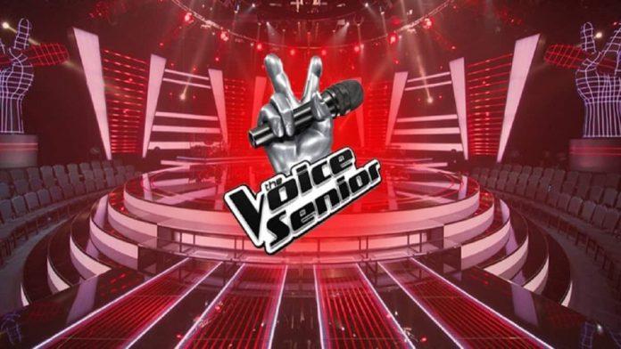 The Voice senior logo