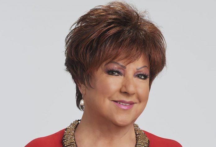La cantante Orietta Berti