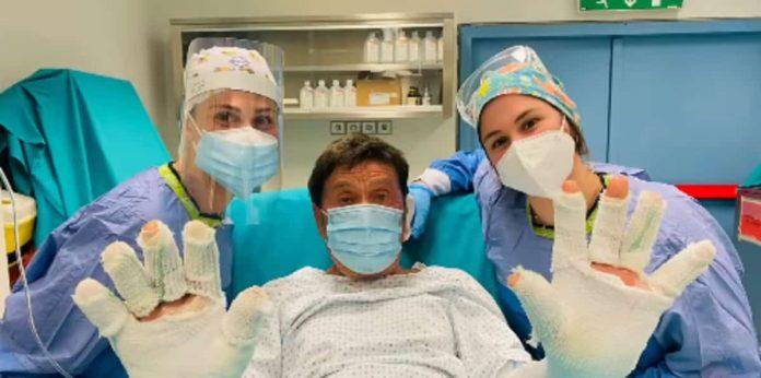 Gianni Morandi condizioni di salute