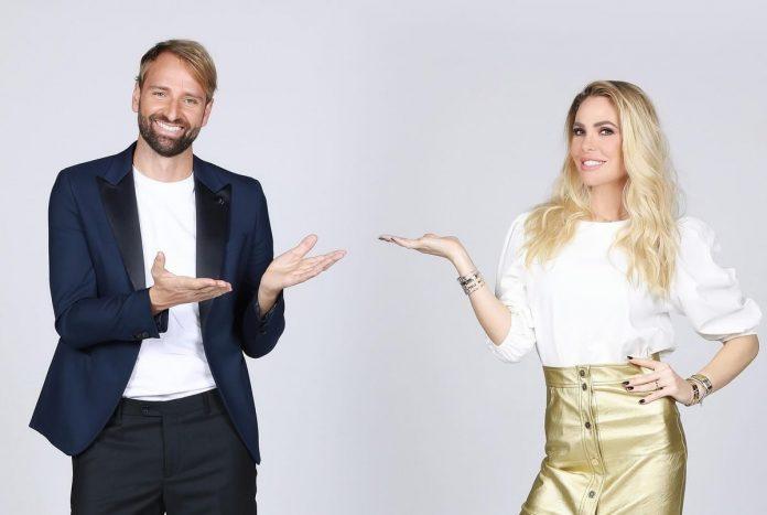 Max Rosolino e Ilary Blasi - Isola dei famosi 2021